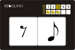 Figura musical - 1 SILENCIO CORCHEA + 1 CORCHEA