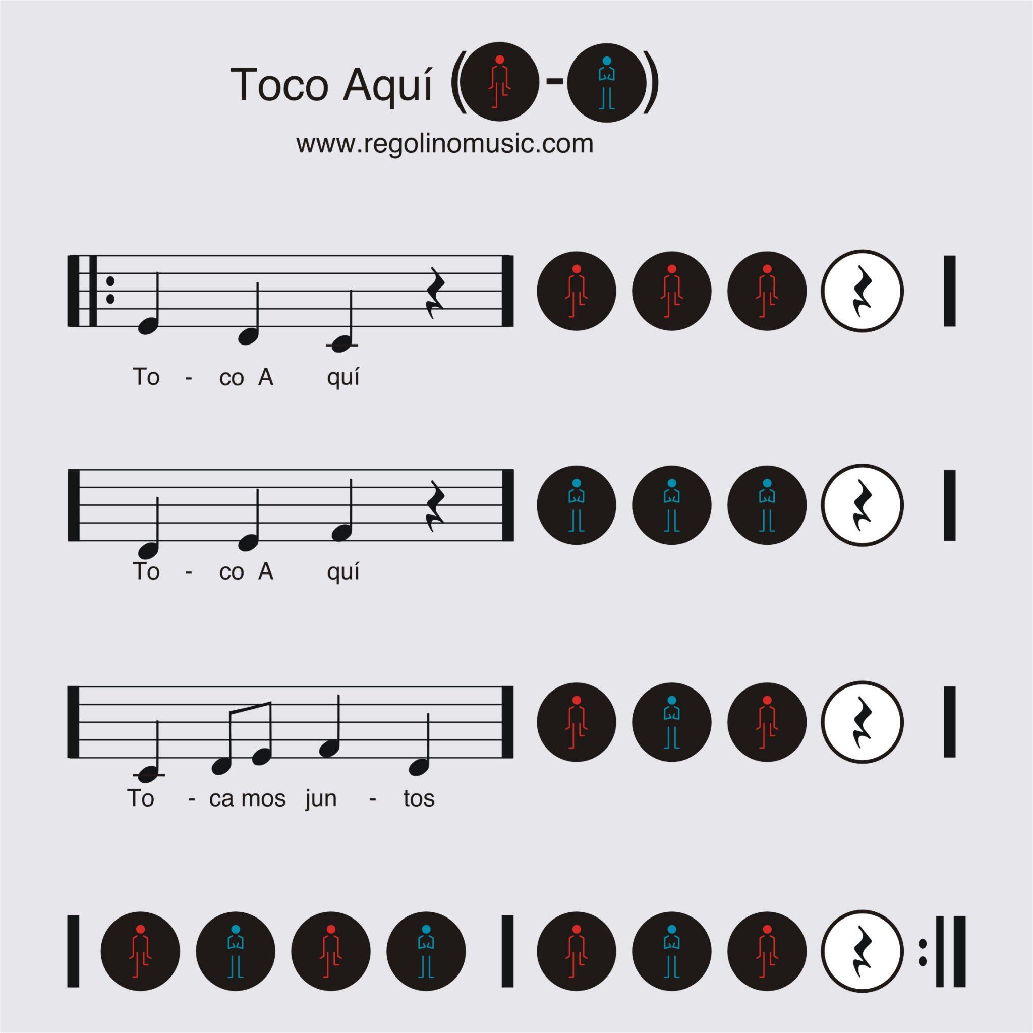 Música Y Percusión Corporal Para Niños De 3 A 5 Años Regolino Music