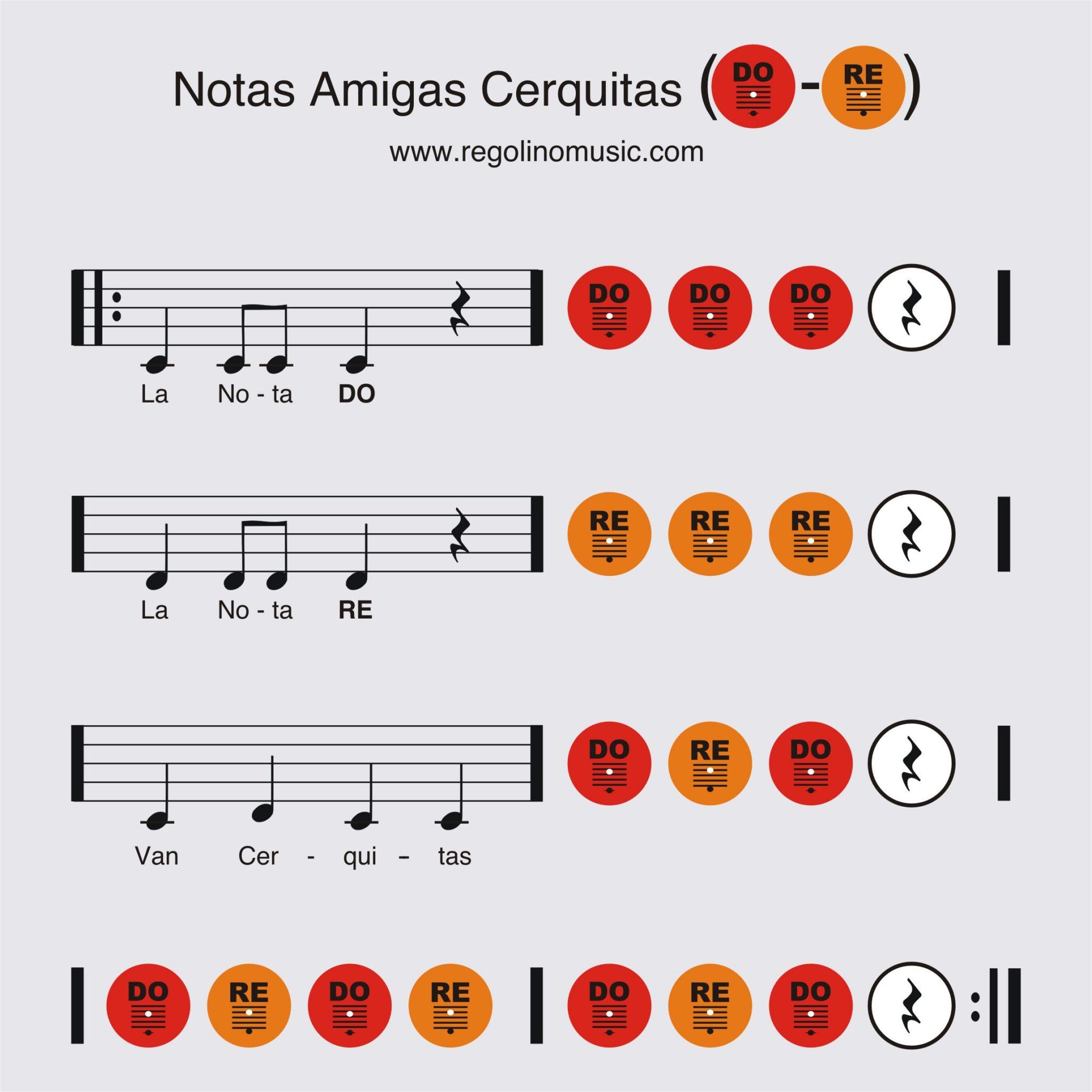 intervalo musical para niños