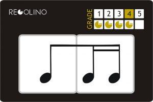 Figuras musicales -1 corchea y 2 semicorcheas