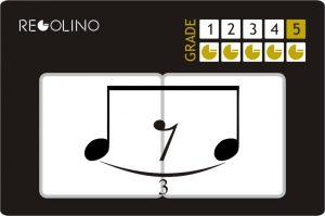 figuras musicales - tresillo de corcheas con silencio
