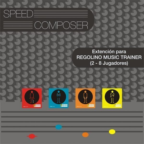 speed composer - extension pdf para el juego de cartas musicales Regolino Music Trainer