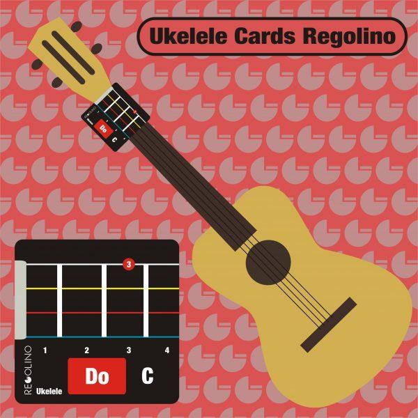 como aprender a tocar el ukelele con flashcards